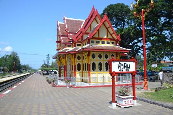 Welbekende station Hua Hin