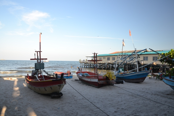 Het strand van Hua Hin