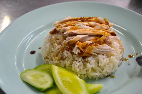 Kip met rijst (Khao Mun Gai Pratunam)